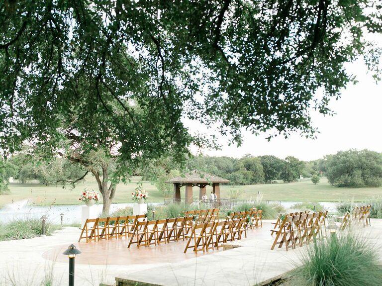 Wedding venue in Georgetown, Texas.