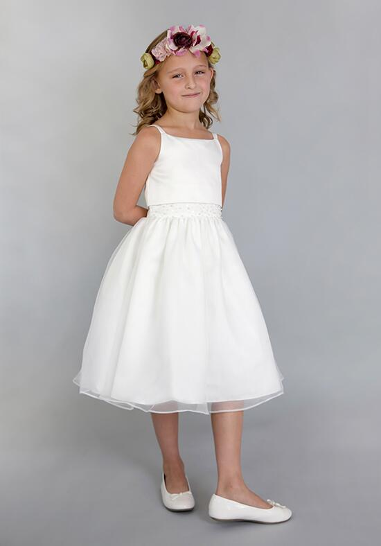Us Angels Beautiful Color 684_Ivory Flower Girl Dress photo