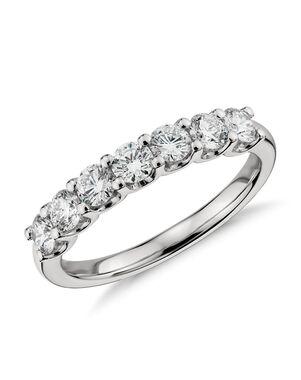 Blue Nile 37882 Platinum Wedding Ring