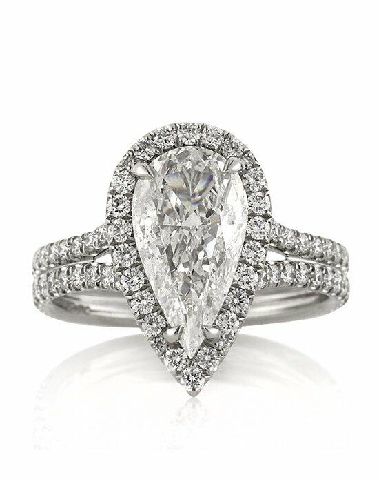 Mark Broumand 3.01ct Pear Shaped Diamond Engagement Ring Engagement Ring photo