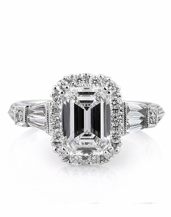 Mark Broumand 3.01ct Emerald Cut Diamond Engagement Ring Engagement Ring photo