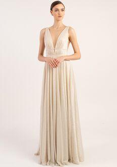Jenny Yoo Collection (Maids) Carmen V-Neck Bridesmaid Dress