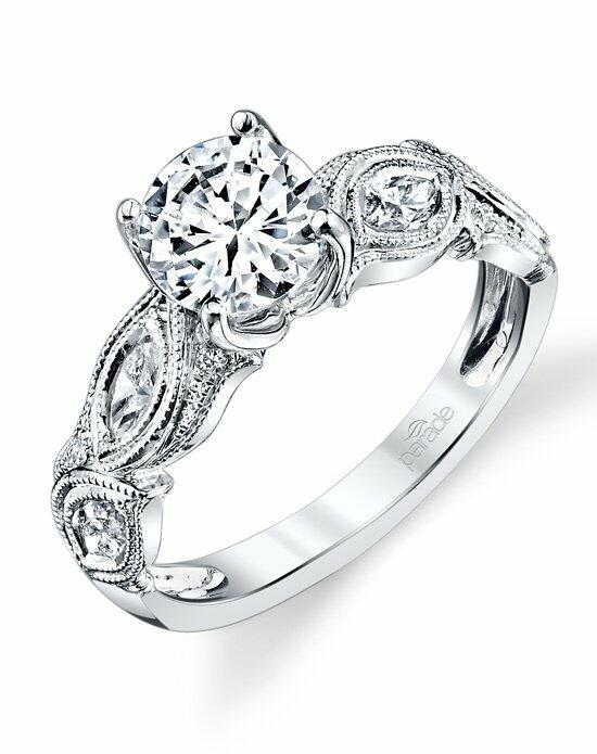 Parade Design Style R3102 from the Hera Collection w Engagement Ring photo