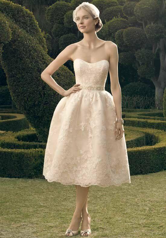 Tea length wedding dresses for Winter tea length wedding dresses