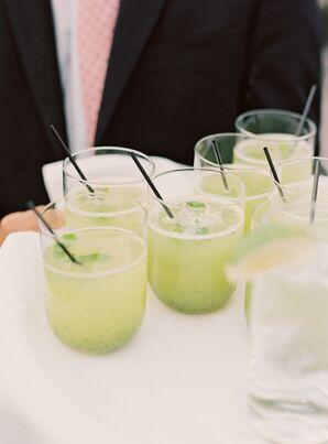Mint Lemonade Prosecco Cocktail