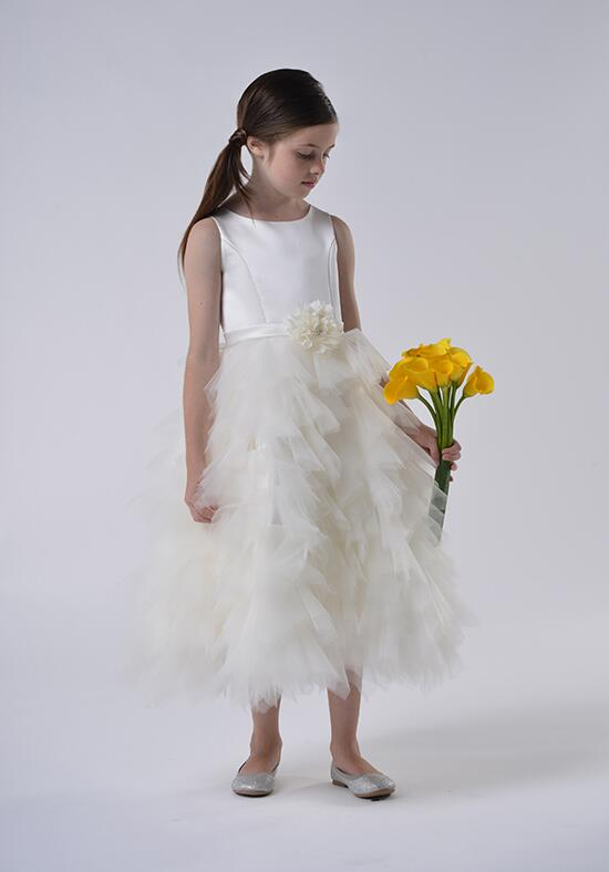 Us Angels Beautiful Color The Peony Dress-110_Ivory Flower Girl Dress photo