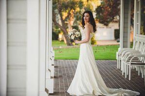 Priscilla of Boston Ivory Wedding Dress
