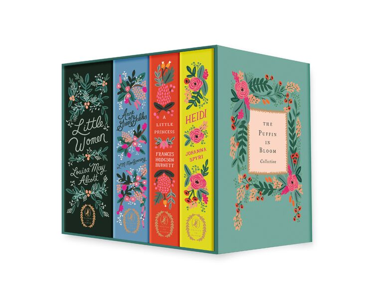 Collection of classic novels bridesmaid gift set