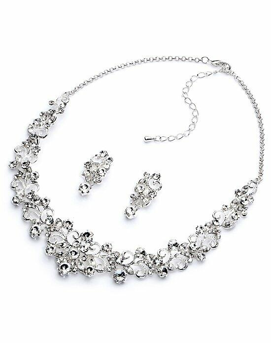USABride Darla Rhinestone Jewelry Set Wedding Necklaces photo