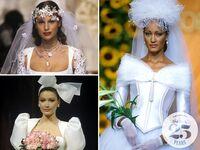 90s beauty wedding trends