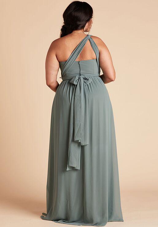 Birdy Grey Grace Convertible Dress Curve in Sea Glass Sweetheart Bridesmaid Dress