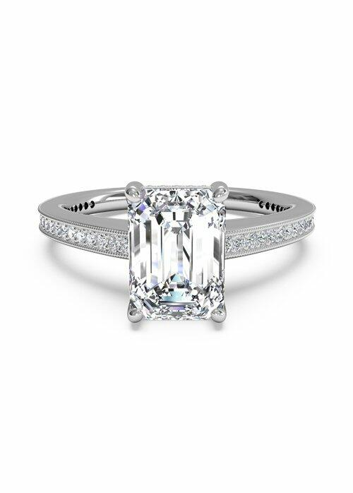 Platinum Must Haves Ritani Platinum & Diamond Engagement Ring Engagement Ring photo