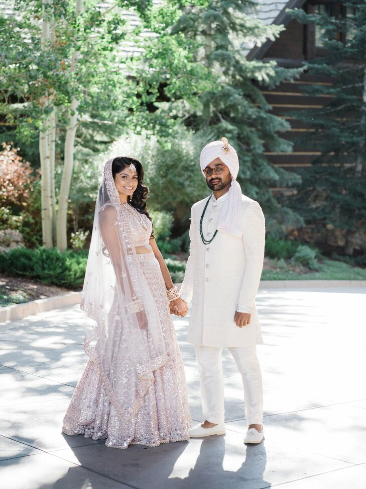 Washington, DC, residents Puja Bhatia (33 and a lawyer) and Kunal Patel (33 and a consultant) changed up Indian tradition for their destination weddin