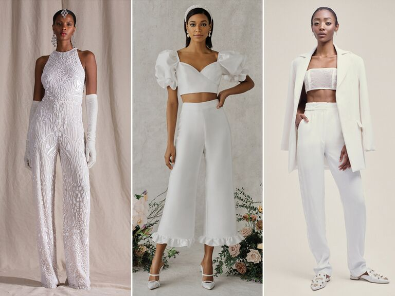 wedding pantsuits and wedding jumpsuits