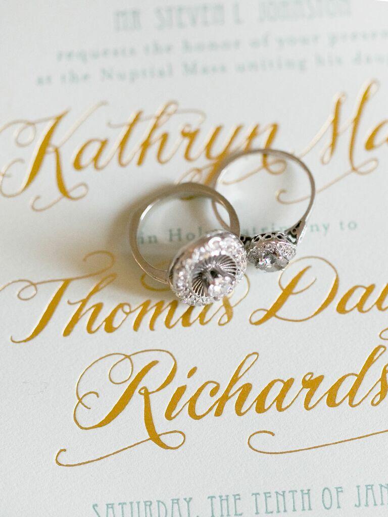 Letterpress wedding invitiations