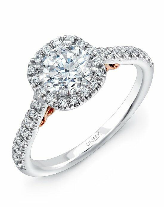 Uneek Fine Jewelry A101CUWR-6.0RD Engagement Ring photo