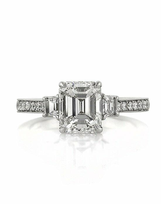 Mark Broumand 2.81ct Emerald Cut Diamond Engagement Ring Engagement Ring photo