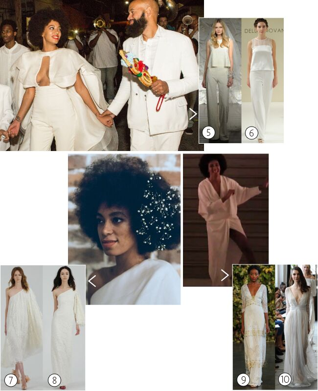 Solange Knowles: Get her wedding day look