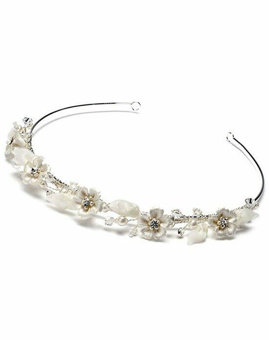 USABride Pearl Flower Headband TI-772 Wedding Pins, Combs + Clips photo