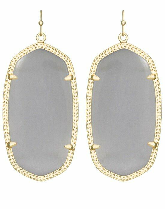 Kendra Scott Danielle Gold Earrings in Slate Wedding Earrings photo