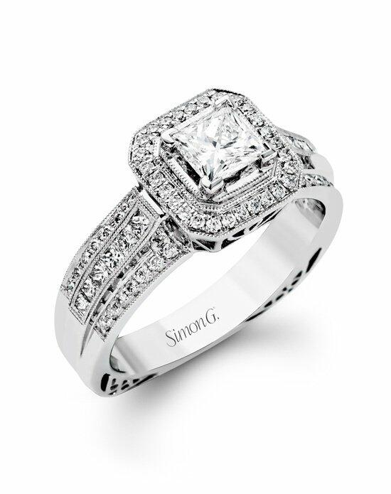 Simon G. Jewelry NR454 Engagement Ring photo