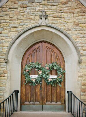 Eucalyptus Wreaths on Lake of the Isles Lutheran Church Doors