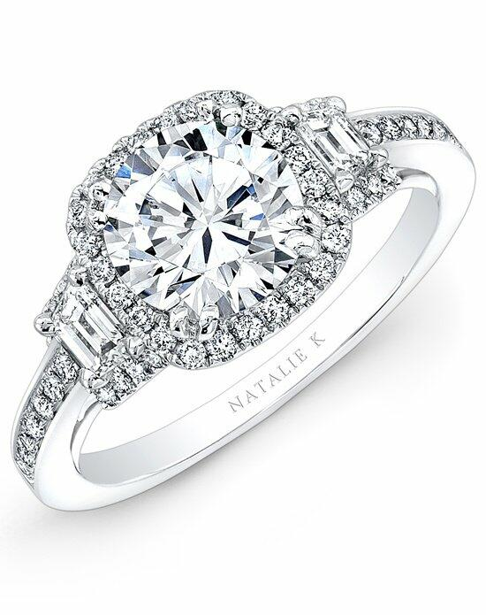 Natalie K Eternelle Collection - NK28363-18W Engagement Ring photo