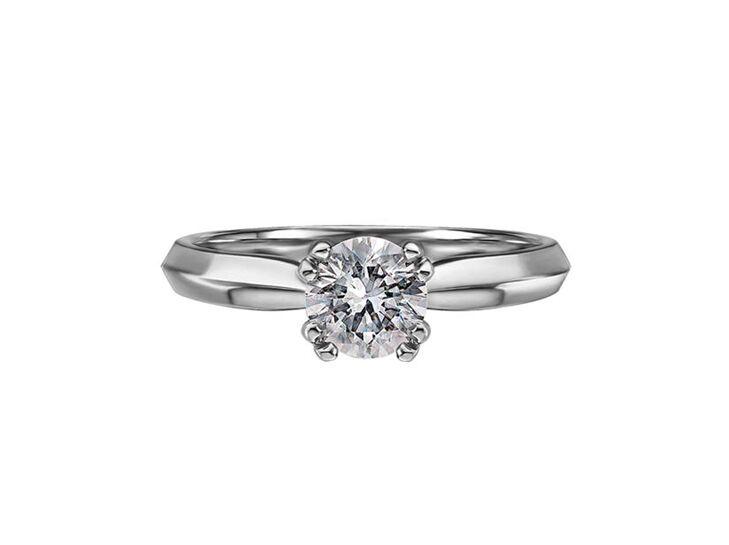 scott kay round cut engagement ring