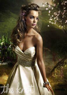 Lazaro 3018 Ball Gown Wedding Dress
