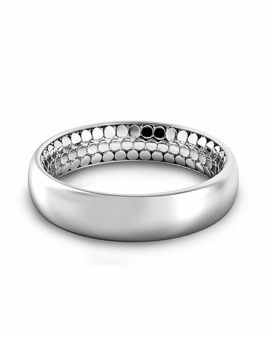 Danhov Tubetto Men's Inside Out Band Wedding Ring photo
