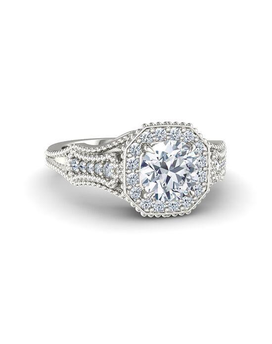 Gemvara - Customized Engagement Rings Vintage Round Cut Engagement Ring