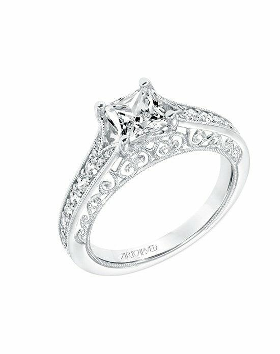 ArtCarved 31-V723ECW-E.00 Engagement Ring photo