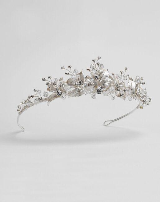 Dareth Colburn Juliet Floral Tiara (TI-3283) Silver Tiara