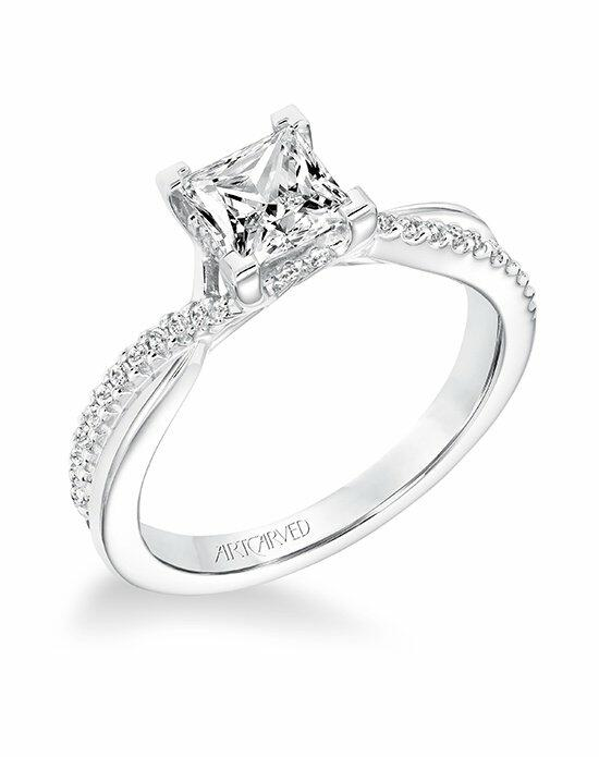 ArtCarved 31-V671ECW-E Engagement Ring photo