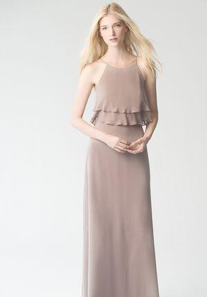 Jenny Yoo Collection (Maids) Charlie #1784 Bateau Bridesmaid Dress