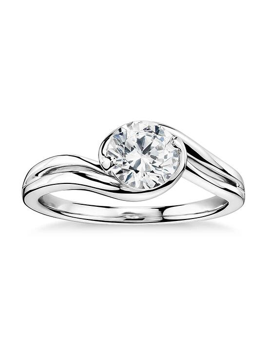 Monique Lhuillier Fine Jewelry Eternal Solitaire Engagement Ring Engagement Ring photo