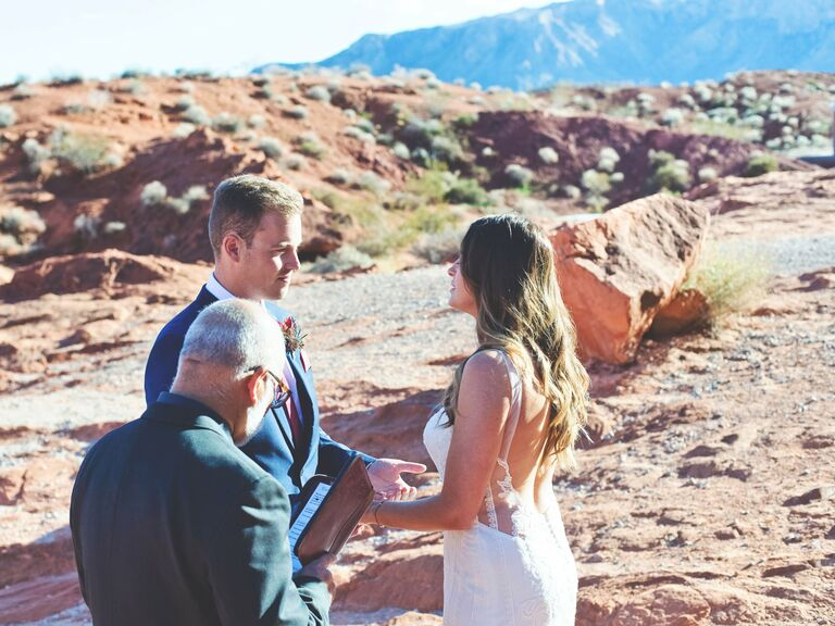 Outdoor Wedding Venues Valley of Fire State Park