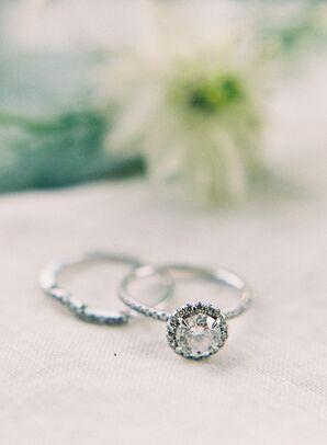 Bailey's Fine Jewelry Round Diamond Halo Engagement Ring