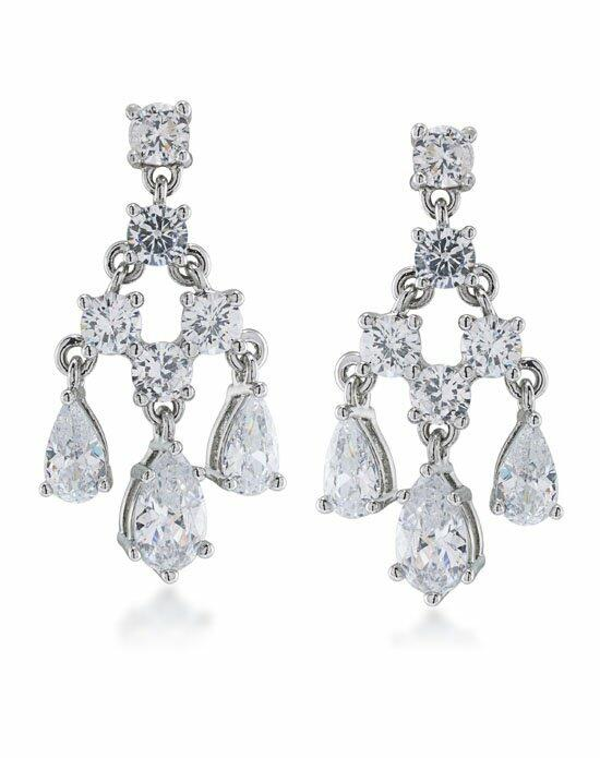 Carolee Jewelry CLP00049S100 Wedding Earrings photo