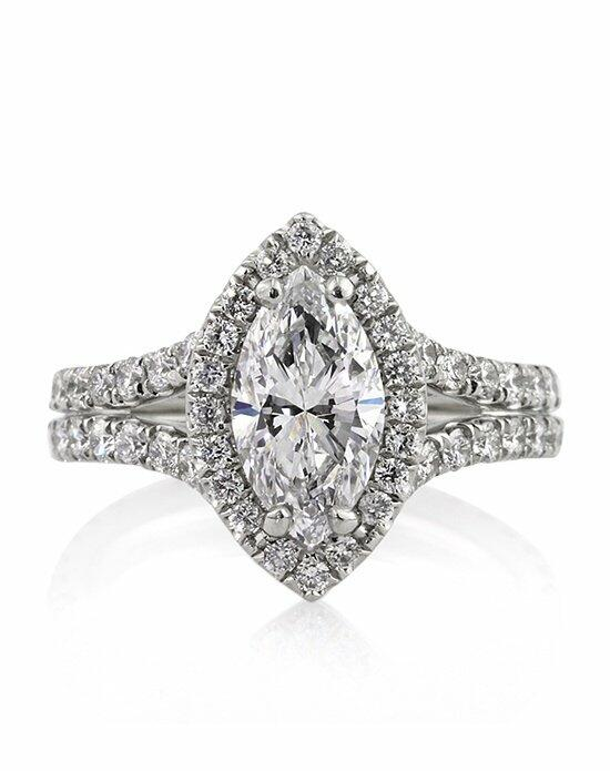 Mark Broumand 3.31ct Marquise Cut Diamond Engagement Ring Engagement Ring photo