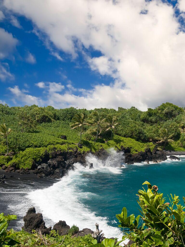 US wedding destination: The Big Island, Hawaii