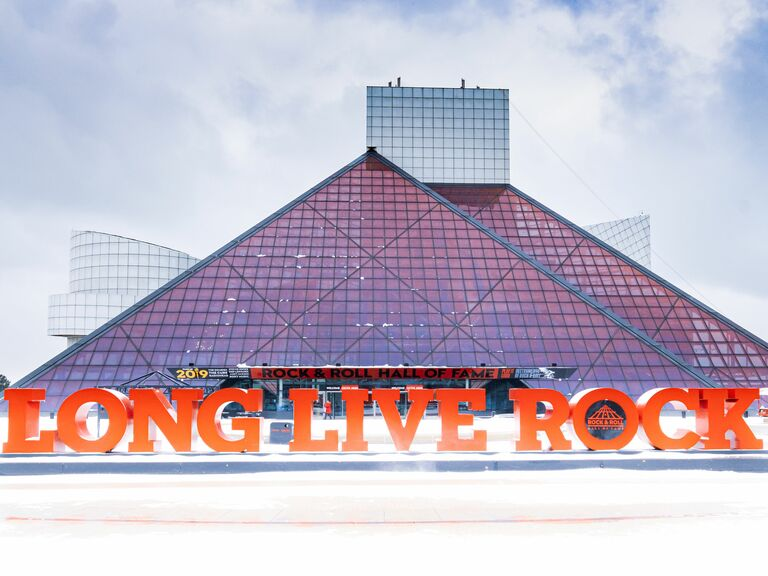 Rock & Roll Hall of Fame exterior