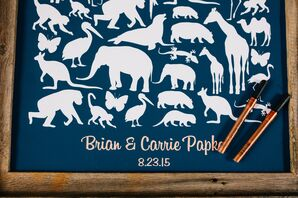 Animal Poster Guest Book