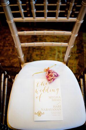 Whimsical Gold Wedding Paper Divas Programs