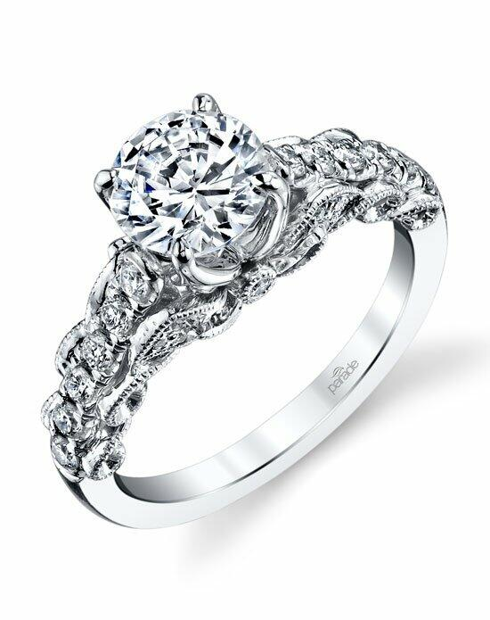 Parade Design Style R3188 from the Lyria Collection Engagement Ring photo