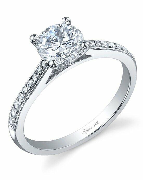 Sylvie Collection SY821 Engagement Ring photo