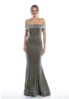 Bari Jay Bridesmaids 2090 Off the Shoulder Bridesmaid Dress