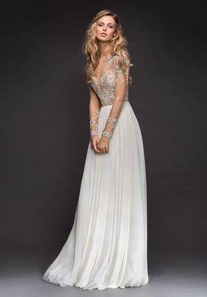 Hayley Paige 6807-Pascal A-Line Wedding Dress
