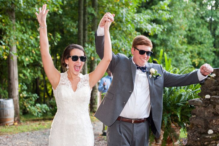 Sarah Beth and Cole's Reception Entrance