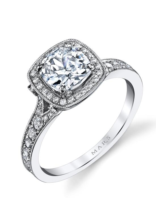 MARS Fine Jewelry MARS Jewelry 25530 Halo Engagement Ring Engagement Ring photo